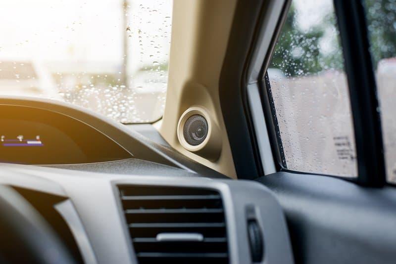 Car audio tweeter speakers