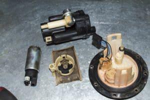 Car fuel pump assembly