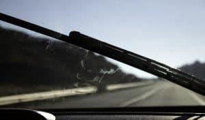 Car windshield wipers leaving streak marks