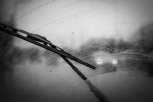 Car windshield wipers leaving streaks