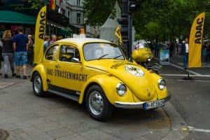 Volkswagen Beetle Vintage Converted Electric Car EV