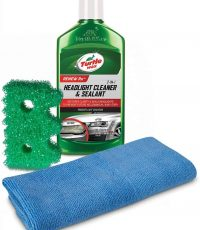 Turtle Wax 50736 Exclusive Headlight Cleaner & Scrub Daddy Restoration Kit , 9 fl. oz